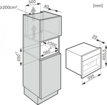 Miele CVA 6401 Einbau-Kaffeevollautomat