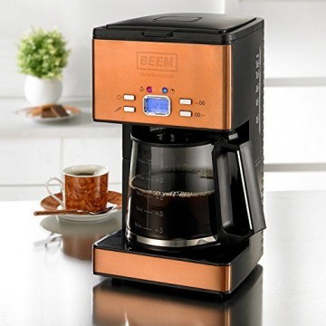 BEEM Nobilis Copper-Style kaffeemaschine